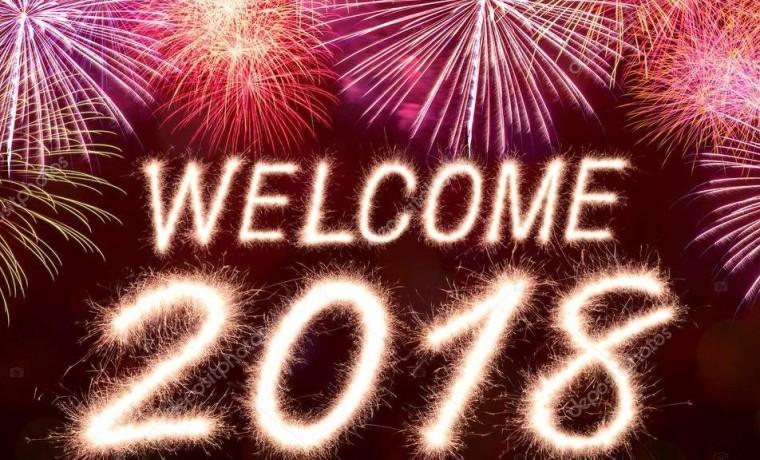 Buon anno nuovo 2018