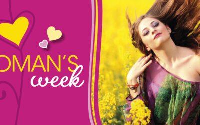 Promozioni per la settimana della Donna!